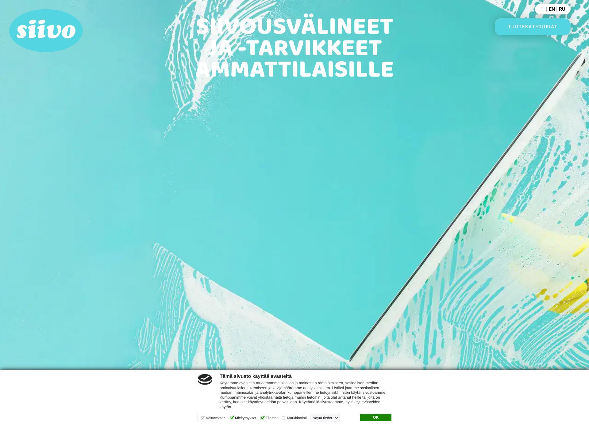 Screenshot for siivotuote.fi