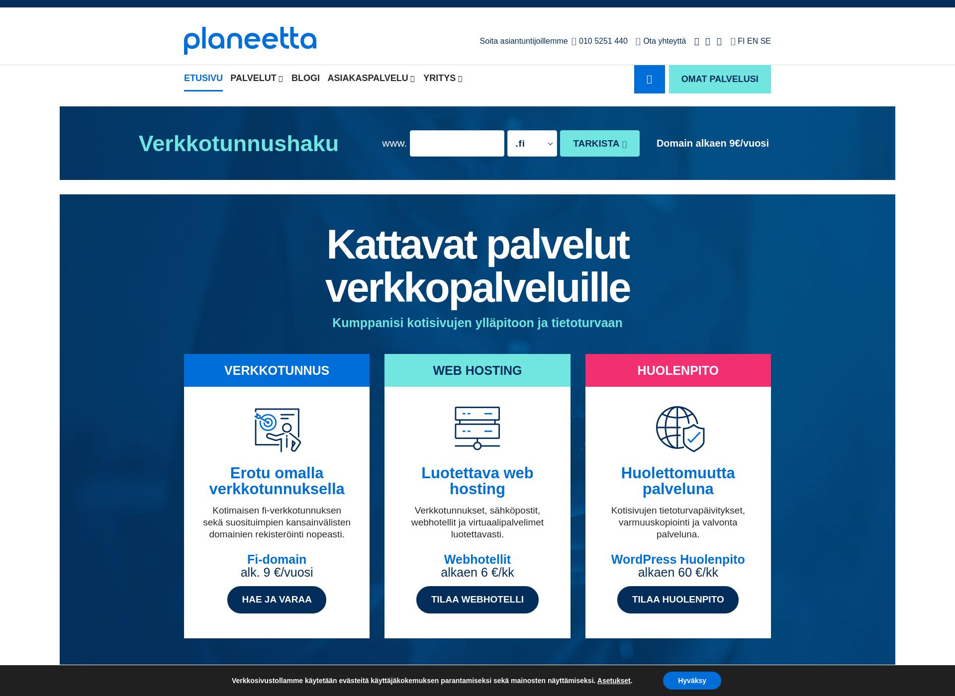 Screenshot for smartgame.fi