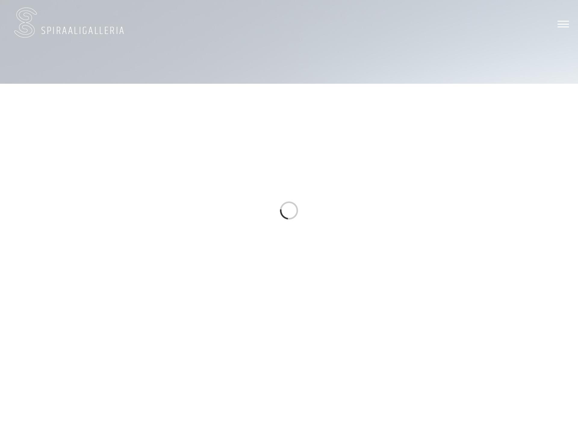 Screenshot for spiraaligalleria.fi