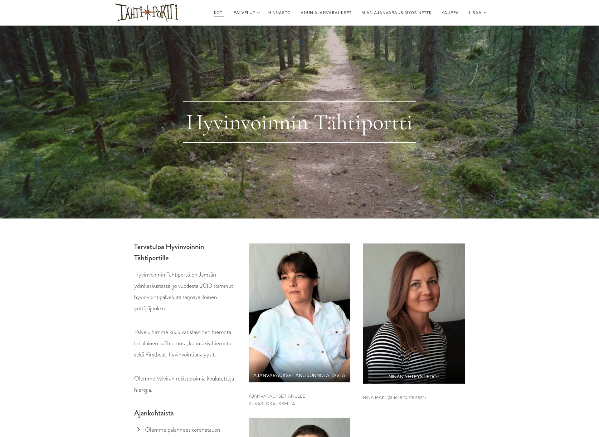 Screenshot for tahtiportti.fi