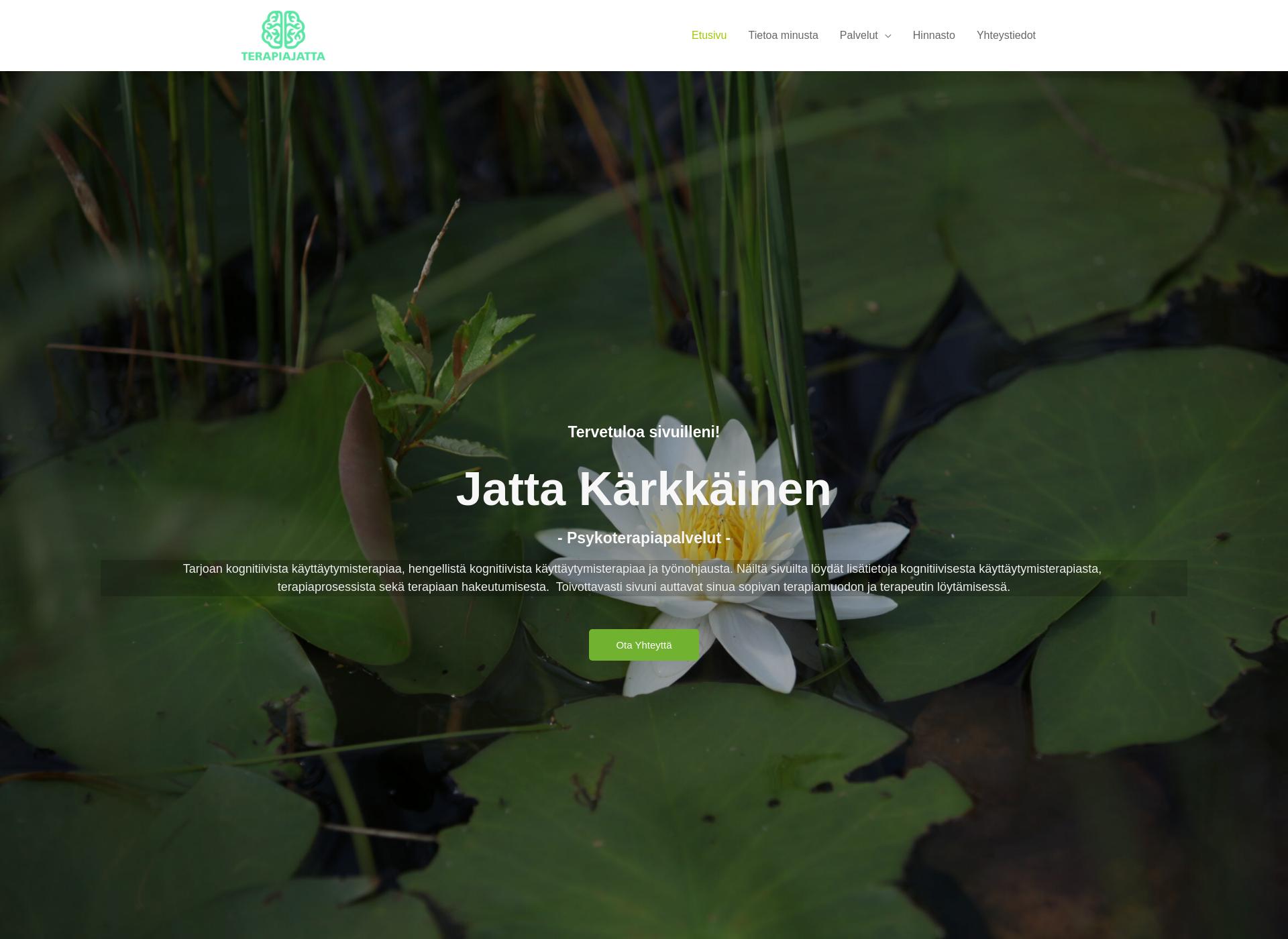 Screenshot for terapiajatta.fi