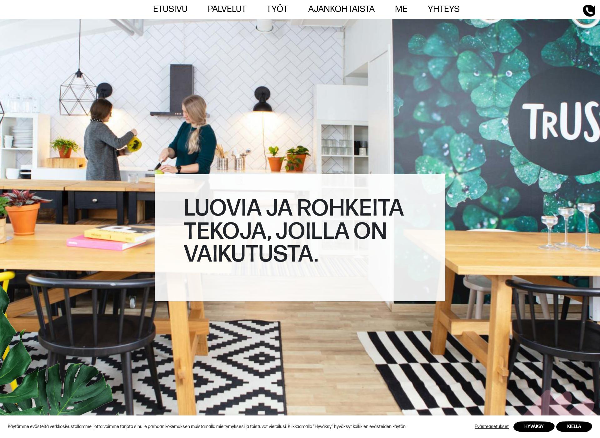 Screenshot for trust.fi