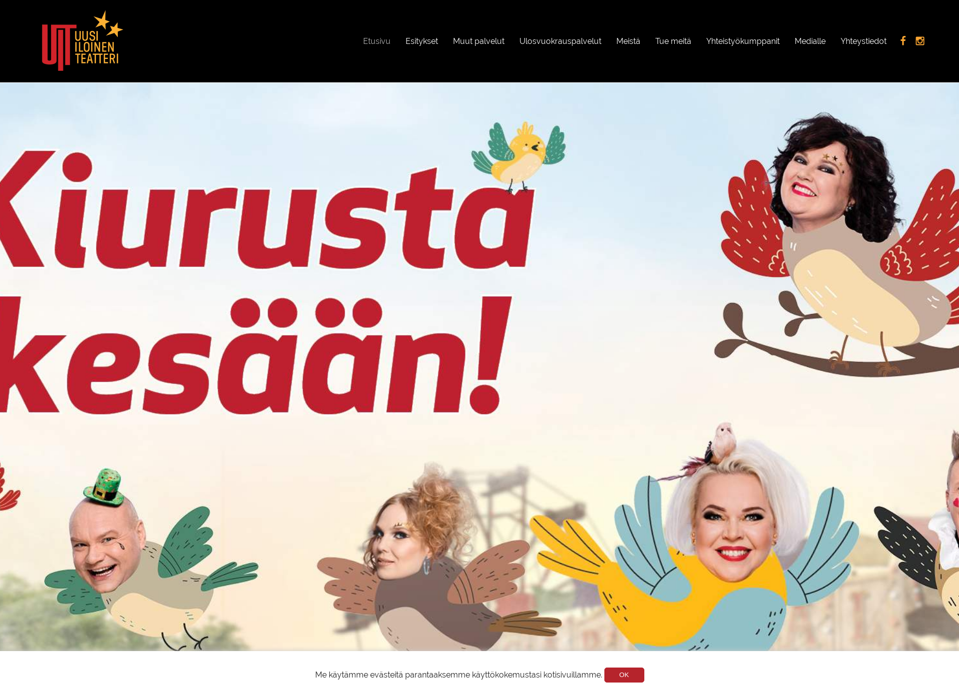 Screenshot for uit.fi