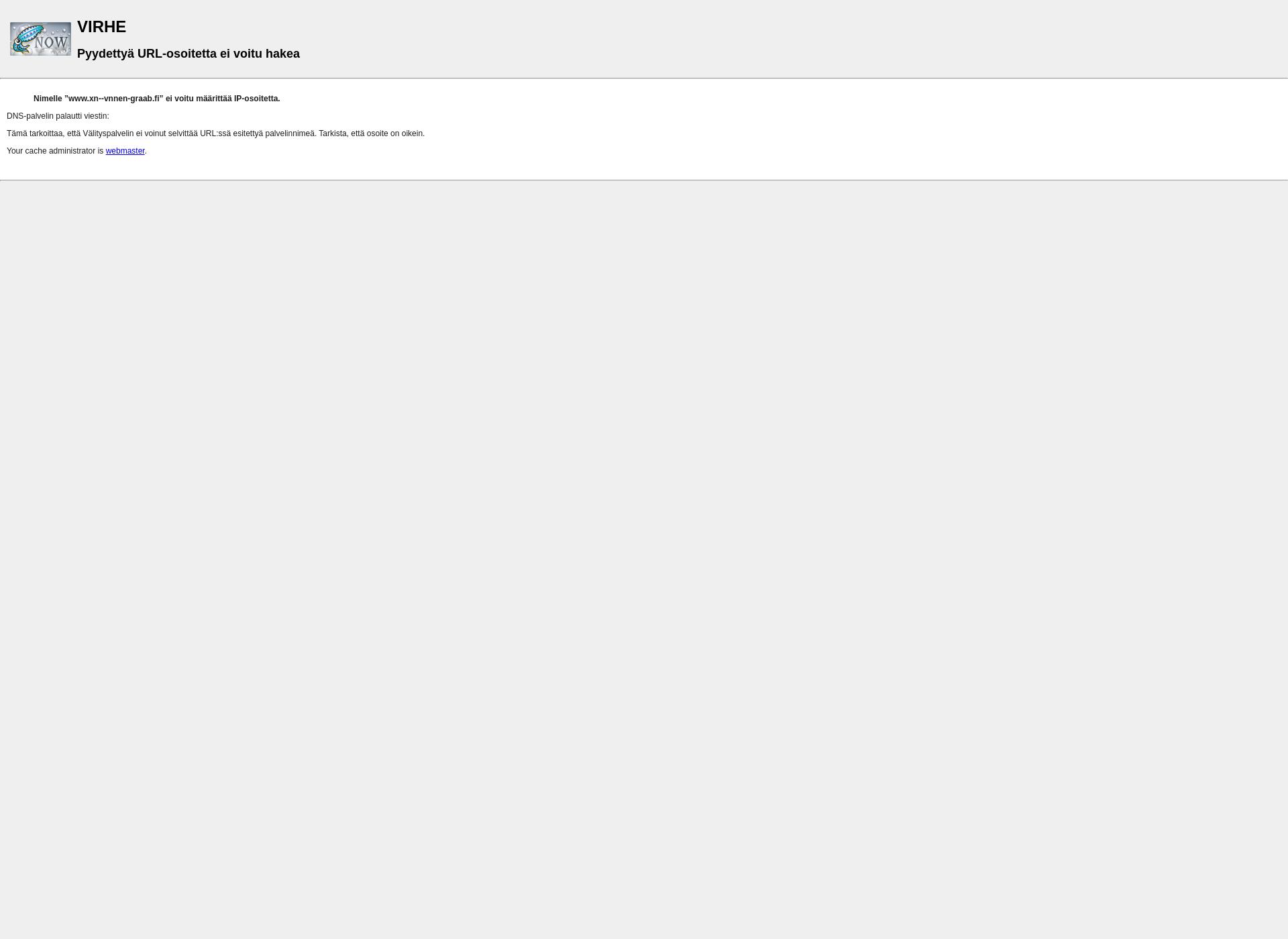 Screenshot for väänänen.fi