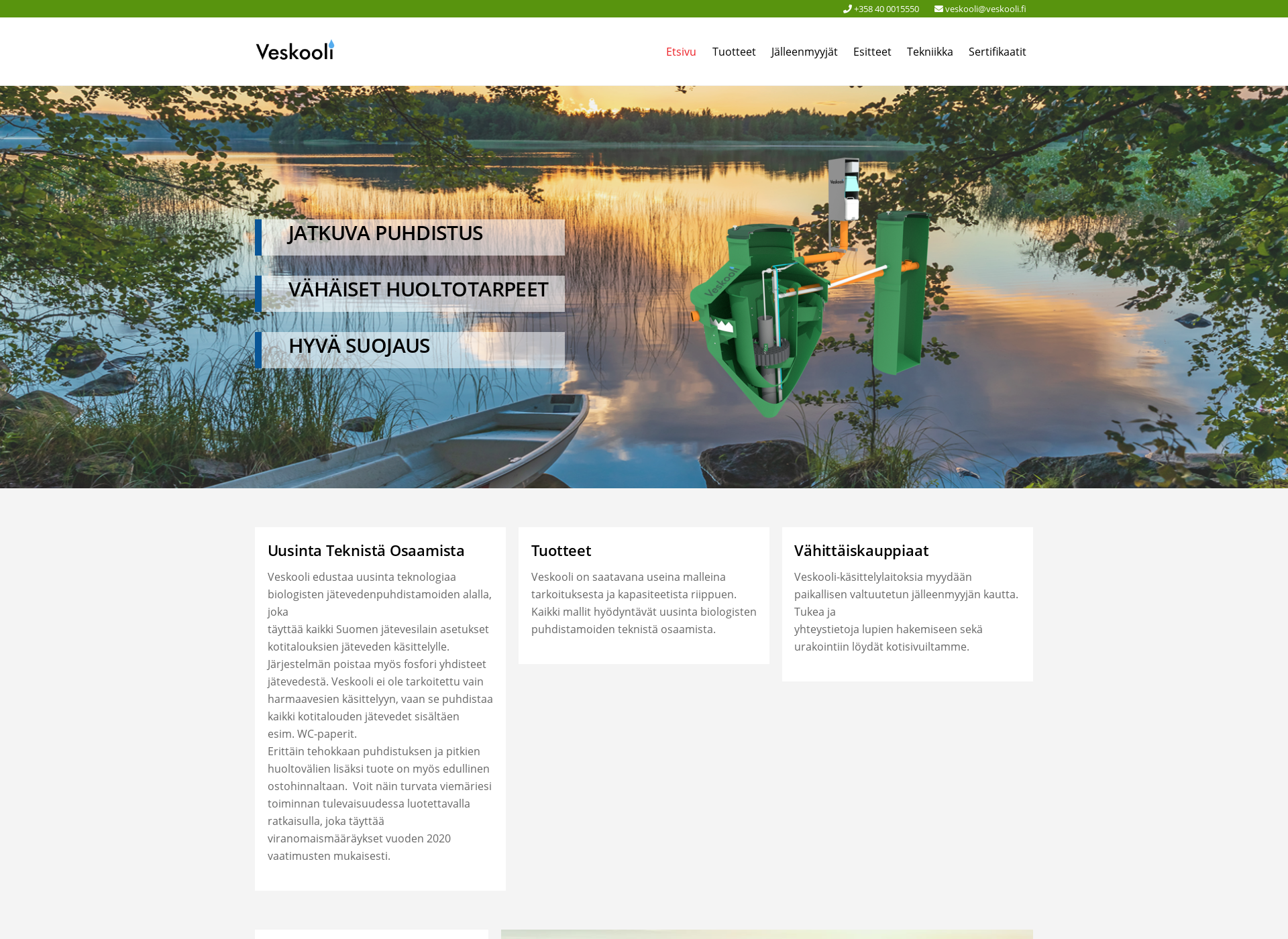 Screenshot for veskooli.fi