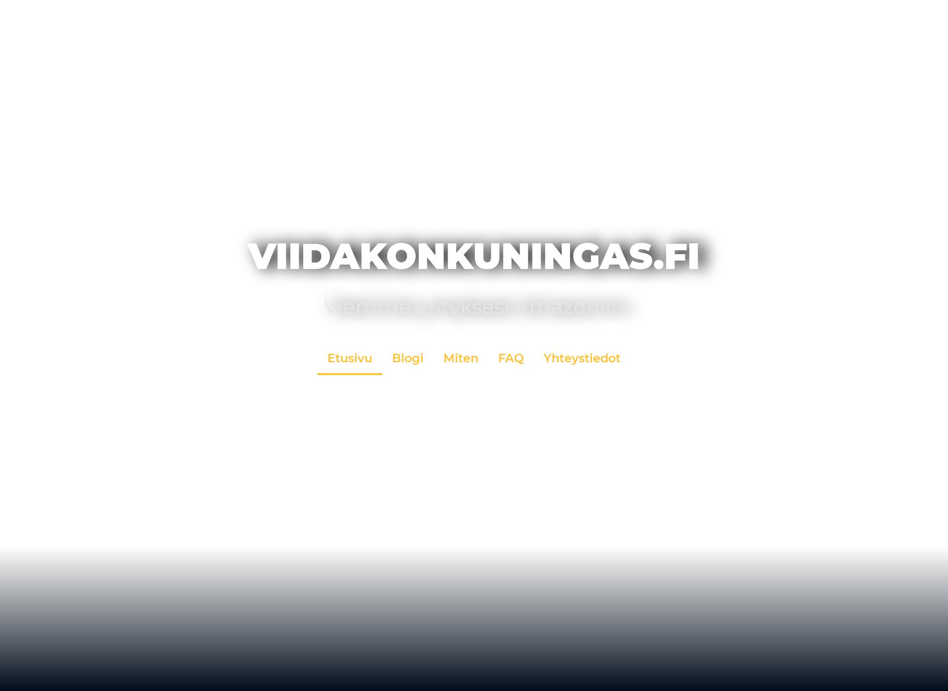 Screenshot for viidakonkuningas.fi