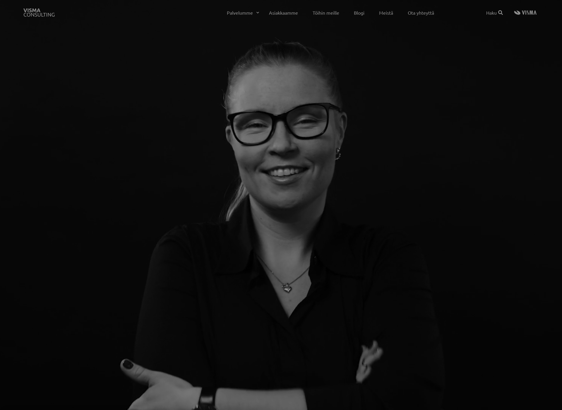 Screenshot for vismaconsulting.fi