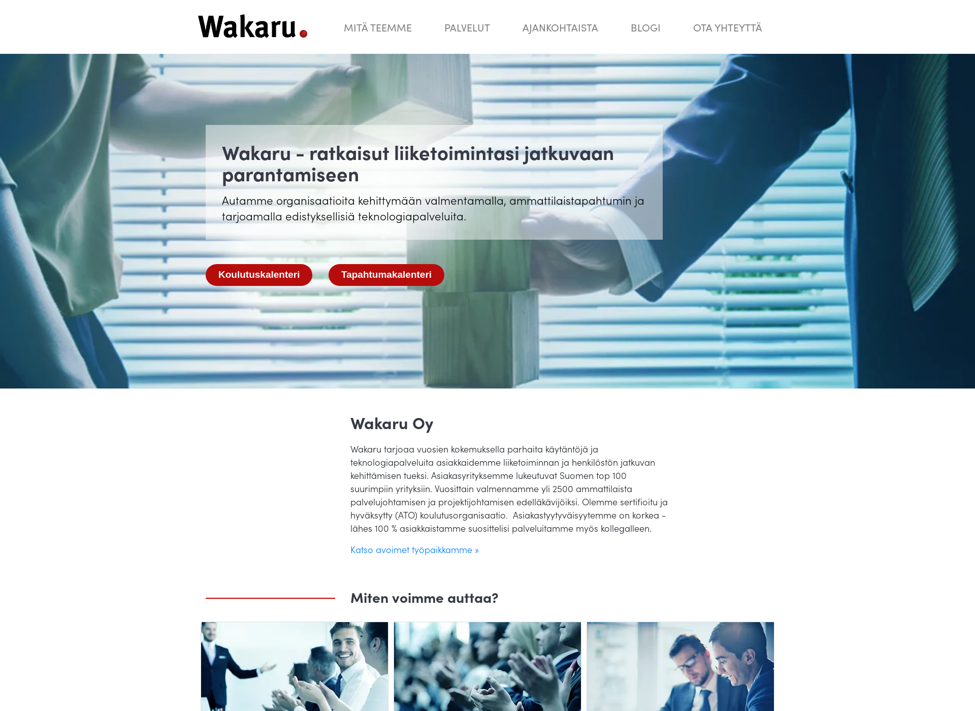 Screenshot for wakaru.fi