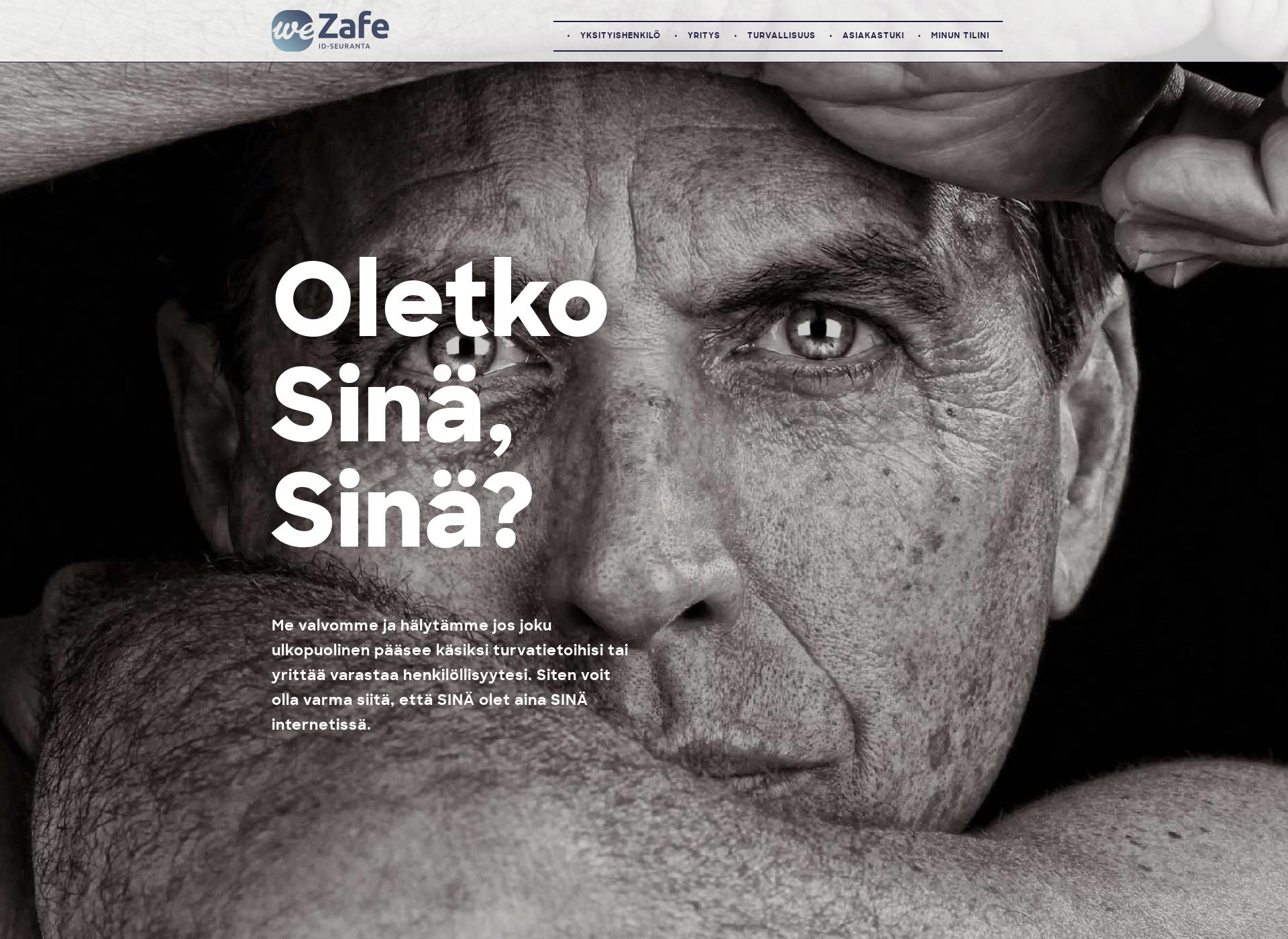Screenshot for wezafe.fi