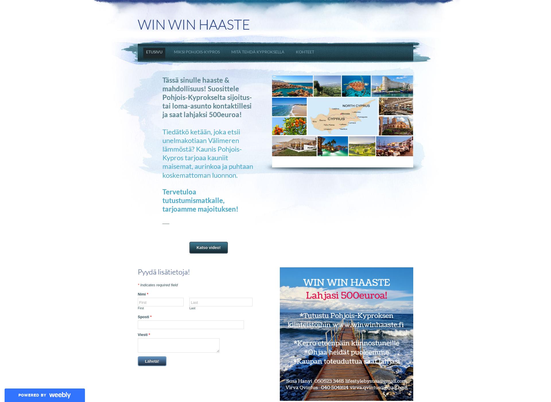 Screenshot for winwinhaaste.fi