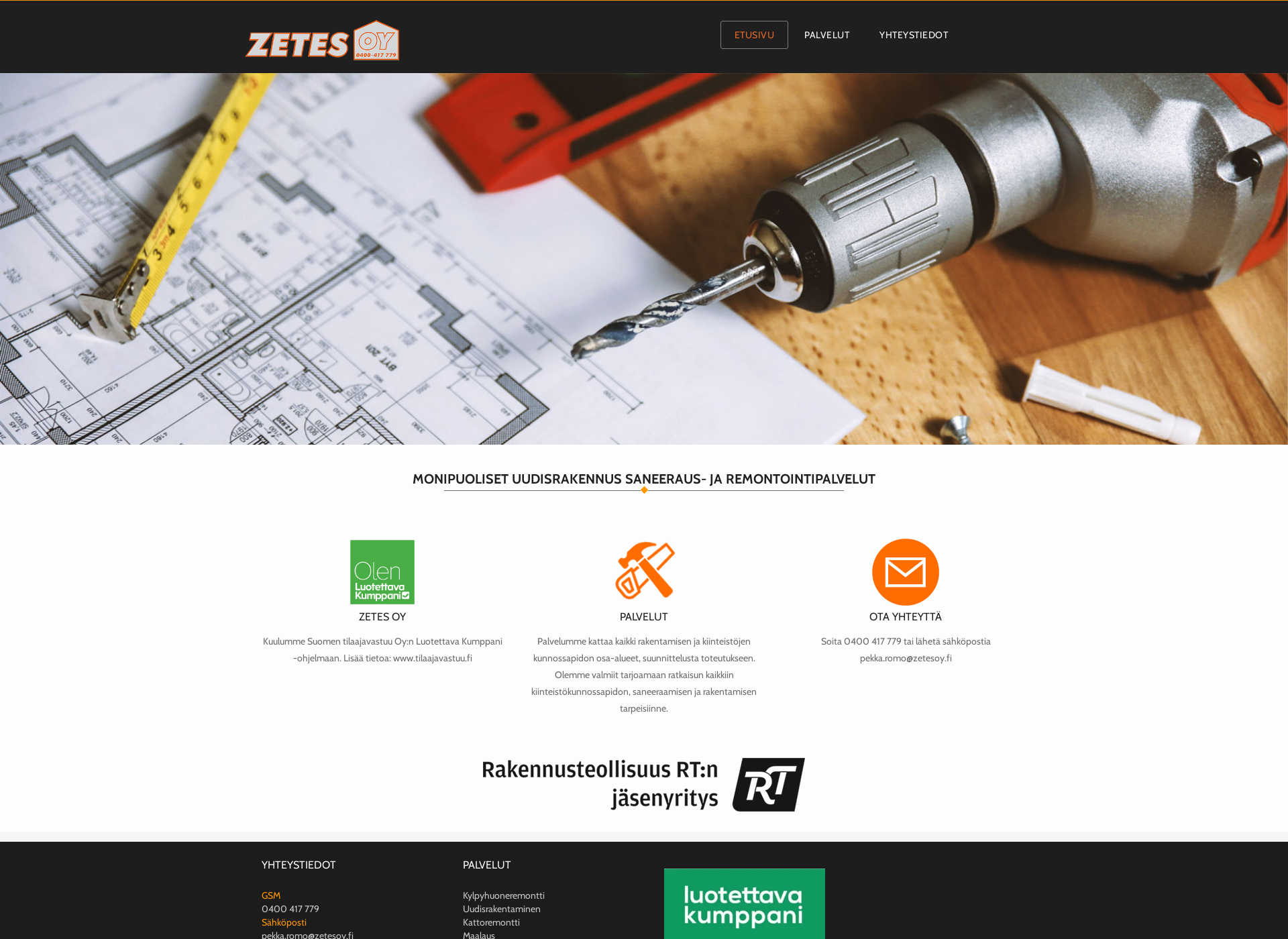 Screenshot for zetesoy.fi